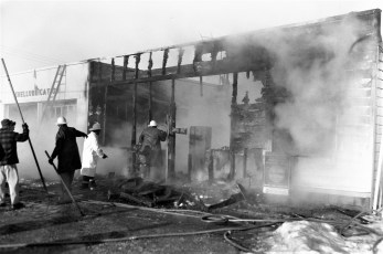 G'town Fire Shell Station Rt. 9G N. G'town 1962