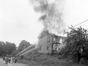 G'town Rt. 9G & Hover Ave. Cty. owned building 1963 (4)