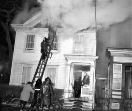Hudson Fire 44 N. Fifth St. Waltermire's Store Jan. 1965 (5)