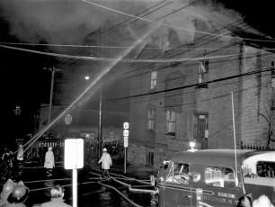 Hudson Fire 4th & Columbia St. Apr. 1967 (1)