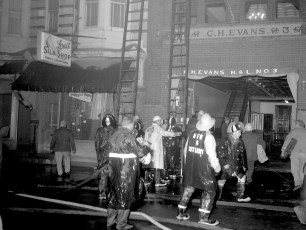 Hudson Fire Byron Parker Bldg. Warren St. Nov. 1966 (6)