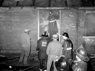 Hudson Fire Marsh's Warehouse Oct. 1964 (5)