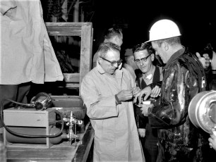 Hudson Fire Marsh's Warehouse Oct. 1964 (6)