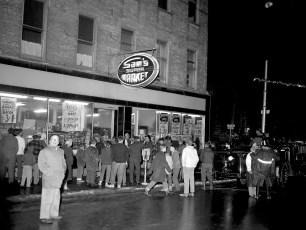 Hudson Fire Sam's Super Market Dec. 1962