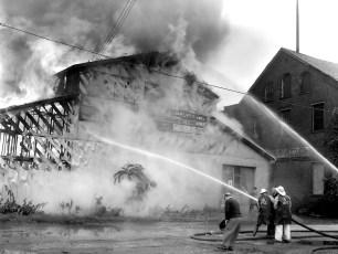 Hudson Fire Speer Lumber Building Oct. 1961 (3)