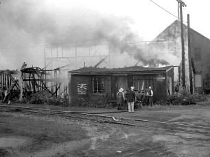 Hudson Fire Speer Lumber Building Oct. 1961 (6)