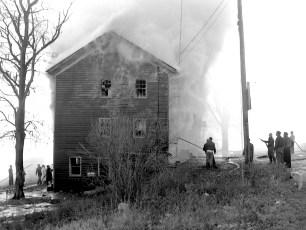 Mellenville Fire Rt. 217 Nov. 1962 (4)