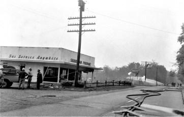 Millerton (Irondale) Fire Suburban Propane explosion & fire Sept. 1965 (1)