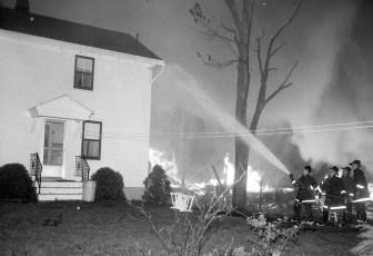 Red Hook Fire Scheffler's Lumber Yard Thompson St. July 1964 (5)