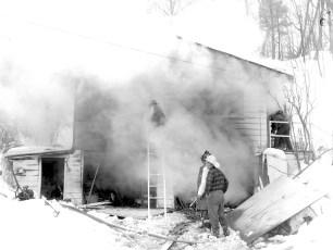 Red Hook Fire Spring Lake Road Feb. 1964 (1)