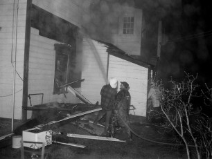 Stottville Fire two family house Dec. 1965 (2)
