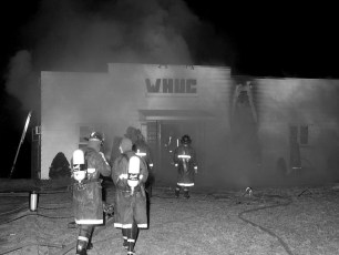 Greenport Fire WHUC Radio Station Rt. 66 Apr. 1972 (1)