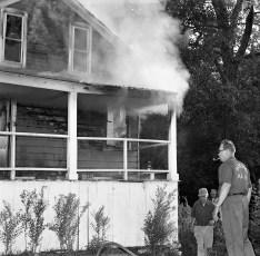 G'town Fire Rev. Lindsley owner built in 1822 Cheviot July 1974 (1)