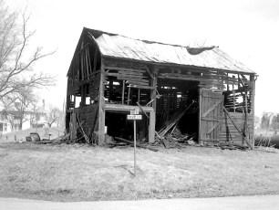 G'town Fire barn on Cheviot Ext. Apr. 1974