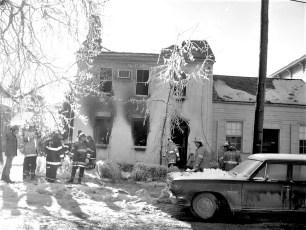 Hudson Fire 345 Union St. Jan. 1977