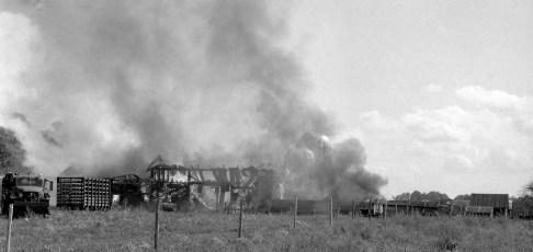 Livingston Fire Paszko Farm barn Manorton Sept 1971 (1)