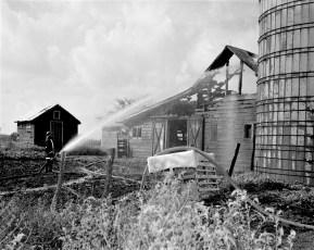 Livingston Fire Paszko Farm barn Manorton Sept 1971 (4)