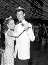 GCS  Jr. Prom 1967 Queen Claudia Larkins King Charles Ovalle (2)