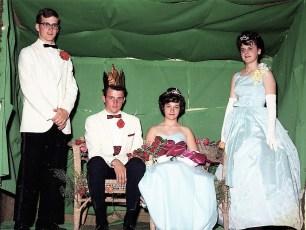 GCS Jr. Prom John Margan & Marcia Latta with Leland Crawford and Barbara Moore