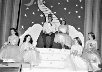 GCS Jr. Prom 1954 King James Potts Queen Judy Patterson (1)
