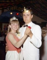 GCS Jr. Prom 1966 Queen Sandra Lynk King John Czajka  (2)