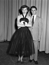 GCS  Senior Dance 1952 Mary Barbour & date