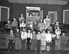 GCS 2nd Grade Puppet Show 1950