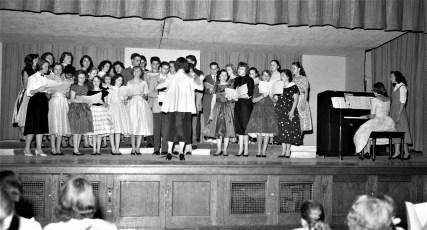 GCS Christmas Concert 1957 (1)