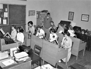 GCS Typing Class 1953