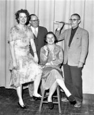 GCS Joe Faculty Night Circa 1928 Mrs Brown, Mr. Mesick, Mrs. Irving, Mr. Webster 1961
