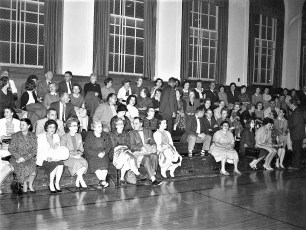 GCS PTA with speaker Gore Vidal 1960 (2)