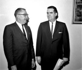 GCS Principal Mortensen welcomes new Principal Zimmerman 1964