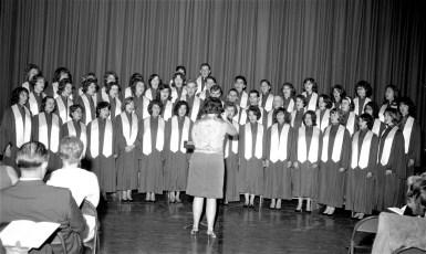 GCS Xmas Concert 1964 (1)
