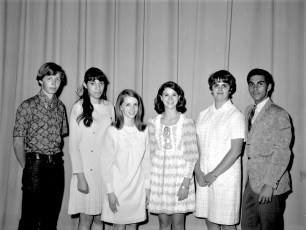 G'town Student Exchange 1969 Ambassadors