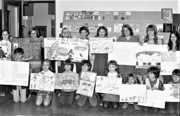 GCS Dental Health Week Poster Winners 1973