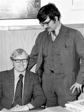 GCS's John Smith & Dominick Lizzi 1974