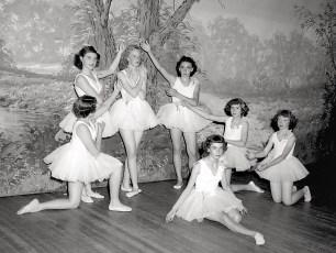 Ruth Miller Dance Recital at GCS 1949 (6)