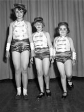 Ruth Miller Dancers at GCS 1950