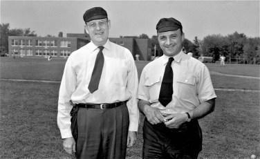 GCS 1956 Baseball Umpires Sheffer & Conte