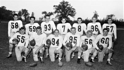 GCS 1955 Football Team & Players (1)