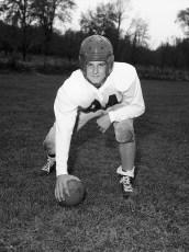 GCS 1955 Football Joe McDonald