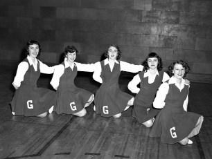 GCS 1953 JV Cheerleaders