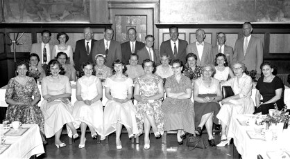 1st Banquet held by G'town Hose Co. Ladies Aux. 1959