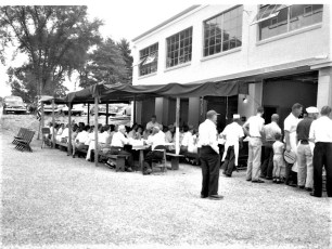 First Clambake at New Firehouse 1958 (3)