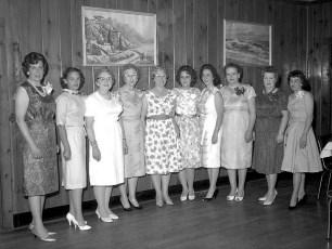 G'town Fire Ladies Aux. 5th Annual Banquet 1963