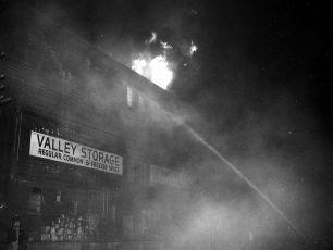 Valley Storage fire G'town March 1966 (3)