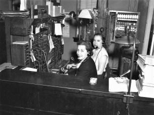 Gtel Operators Glady's Bohnsack & Jo Rockefeller 1950