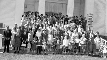 Community Gospel Church Farewell Sermon Rev. Duchardt Martindale 1965