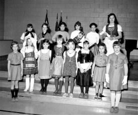 Roe-Jan Girl Scouts, Dee Magisano, Leader 1967