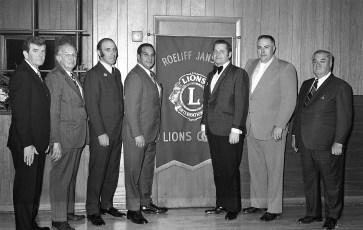Roe Jan Lions Club 25th Anniversary Hillsdale 1973